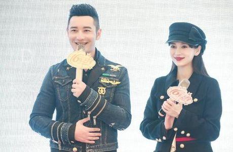 Angelababy om bung bau du sinh nhat som cua Huynh Hieu Minh - Anh 1