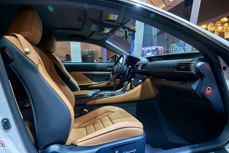 Lexus RC Turbo xuat hien tai Tuan le thoi trang 2016 - Anh 3