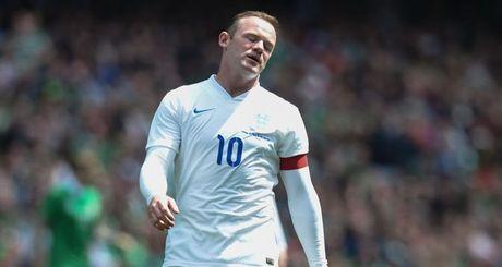 Sa sut phong do, Rooney van duoc tuyen Anh trieu tap - Anh 1