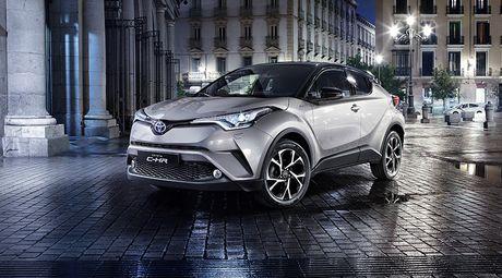Ngam nhin 'nhan to la' Toyota CH-R - Anh 1