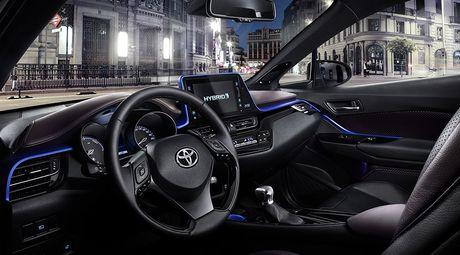 Ngam nhin 'nhan to la' Toyota CH-R - Anh 3