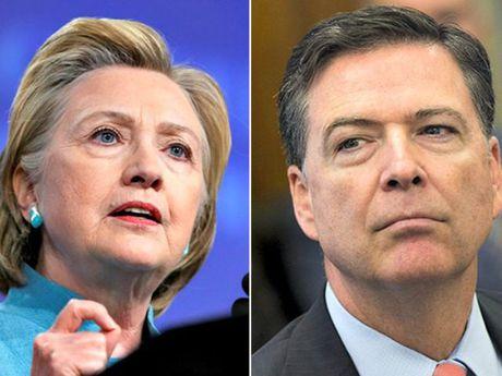 FBI ra ket luan dieu tra be boi thu dien tu cua Hillary Clinton - Anh 1