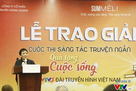 "26 tac pham doat giai cuoc thi sang tac ""Qua tang cuoc song"" - Anh 1"