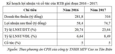 87,9 trieu co phieu CTCP Cao su Tan Bien giao dich tren UPCoM - Anh 2