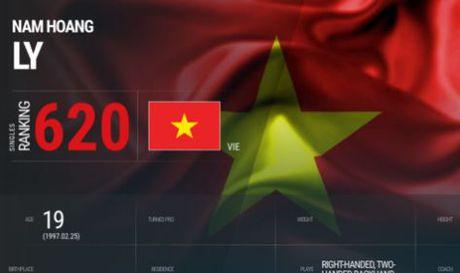 Ly Hoang Nam tang ky luc 9 bac tren BXH ATP - Anh 1