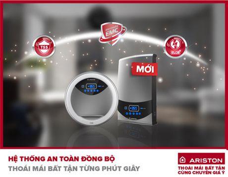 Ariston - Nhan hang mang den nhiet do nuoc on dinh, bat chap moi dieu kien - Anh 5