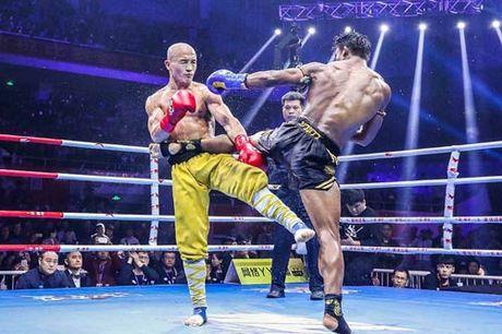 Nong mat, vo si MMA so 1 Thai Lan thach dau Yilong - Anh 1