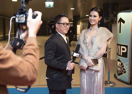 Dong Nhi chinh thuc tro nu nghe xuat sac nhat Chau A tai MTV EMA 2016 - Anh 1