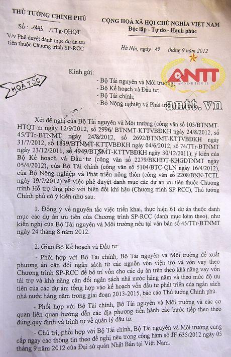 Ninh Binh: Nguy co du an trong diem 'dut ganh' – 8 ti 'boc hoi' - Anh 2