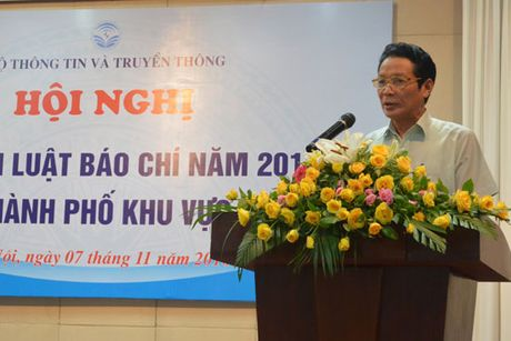 Pho bien Luat Bao chi nam 2016 tai khu vuc phia Bac - Anh 1