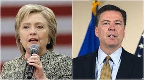 FBI khong buoc toi ung vien Hillary Clinton vi email - Anh 1