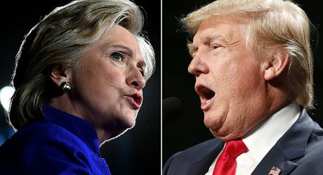 Bao Nga: Truyen thong My dua ra cac cuoc tham do mau thuan ve Trump va Clinton - Anh 1