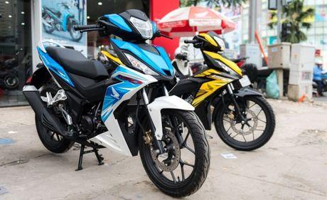 Bang gia xe may Honda cap nhat moi nhat thang 11/2016 - Anh 1