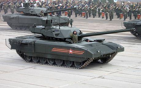 Tinh bao Anh ca ngoi Armata Nga la mau xe tang cach mang nhat - Anh 1