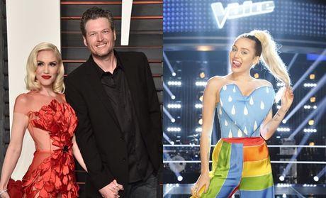Gwen Stefani, Blake Shelton am muu 'muon da vinh vien' Miley Cyrus khoi The Voice? - Anh 3
