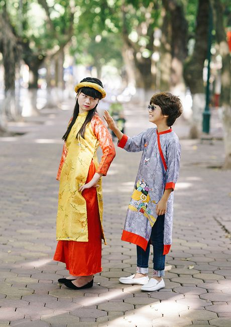 Kim Anh The Voice Kids than thiet ben 'soai ca nhi' Gia Khiem - Anh 7