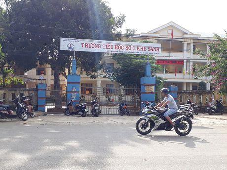 Quang Tri chi dao chan chinh tinh trang lam thu truong hoc - Anh 1
