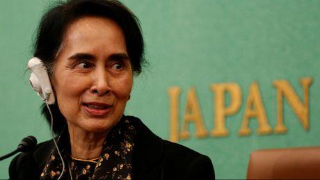Ba Suu Kyi tham Nhat Ban: Tan dung doi tac, loi dung doi trong - Anh 1