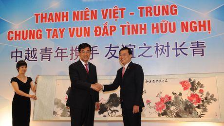 Mo rong hop tac kinh te giua thanh nien Viet Nam - Trung Quoc - Anh 1