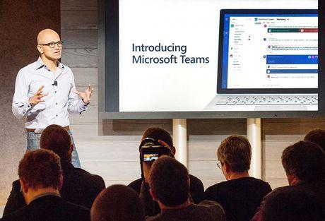 Ra mat tinh nang ho tro lam viec nhom Microsoft Teams - Anh 1