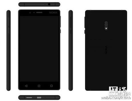 Smartphone Nokia voi thiet ke kim loai tiep tuc lo anh truoc them ra mat - Anh 5