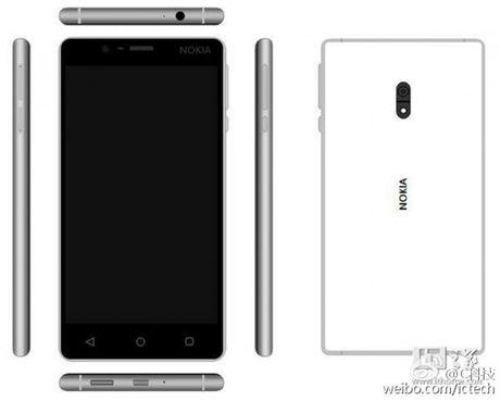 Smartphone Nokia voi thiet ke kim loai tiep tuc lo anh truoc them ra mat - Anh 6