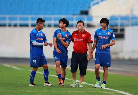HLV Huu Thang: 'Toi khong quan tam den thang thua' - Anh 2
