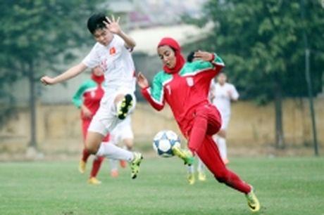 Viet Nam gianh suat du vong chung ket Giai Bong da nu U19 chau A 2017 - Anh 1