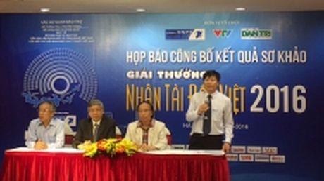 20 san pham CNTT lot vao vong chung khao Nhan tai dat Viet - Anh 1