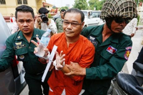 Thuong nghi si Campuchia xuyen tac hiep uoc bien gioi voi Viet Nam bi phat bay nam tu - Anh 1