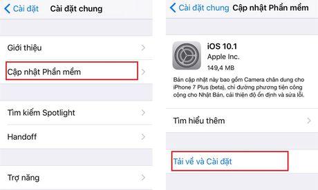 Cach khac phuc loi liet ban phim khi cap nhat len iOS 10 - Anh 1