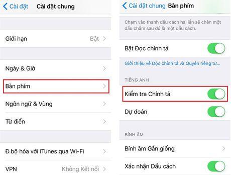 Cach khac phuc loi liet ban phim khi cap nhat len iOS 10 - Anh 2