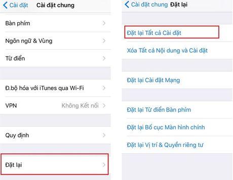 Cach khac phuc loi liet ban phim khi cap nhat len iOS 10 - Anh 3
