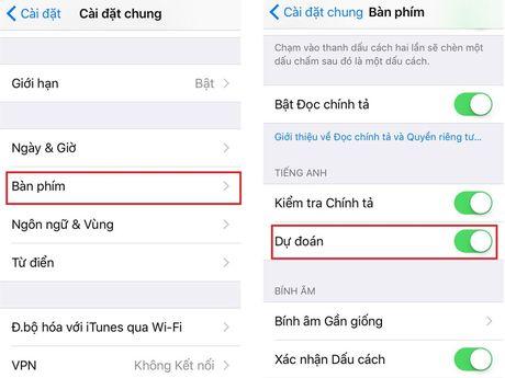 Cach khac phuc loi liet ban phim khi cap nhat len iOS 10 - Anh 4