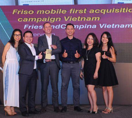 FrieslandCampina Viet Nam gianh 5 giai thuong ve tiep thi di dong - Anh 1