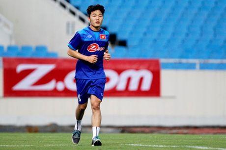 Xuan Truong: DTVN muon danh bai Thai Lan tai AFF Cup - Anh 1