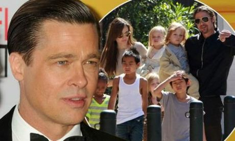 Brad Pitt lao vao cuoc chien gianh nuoi con voi Angelina Jolie - Anh 1