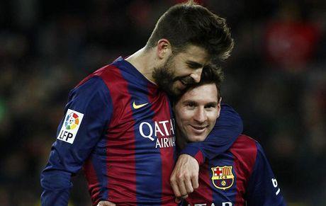 Pique: 'Messi nen doat moi Qua bong Vang tu 2009 toi nay' - Anh 1