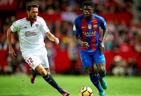 Cham diem Sevilla 1-2 Barca: Messi che mo tat ca - Anh 6