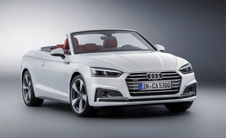 Tiet lo hinh anh cua mau xe Audi A5/S5 Cabriolet 2018 - Anh 2