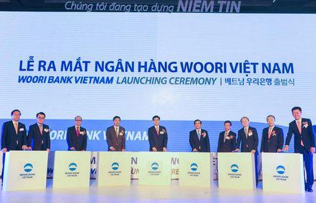 Ra mat ngan hang Woori Bank 100% von cua Han Quoc tai Viet Nam - Anh 1