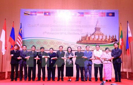 Khai mac Hoi nghi Uy ban Van hoa-Thong tin ASEAN lan thu 51 tai Lao - Anh 2
