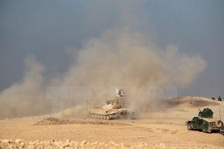 Iraq: Cac tay sung IS bat coc gan 300 nguoi gan thanh pho Mosul - Anh 1