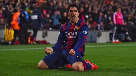 Messi, Suarez bay cao, Bale duoi kip Ronaldo trong cuoc dua Pichichi - Anh 2