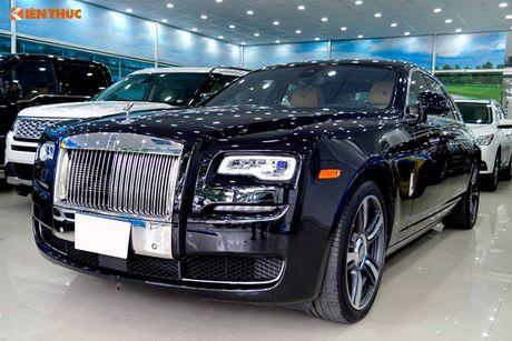 Ly Nha Ky ngoi sieu xe sang Rolls-Royce 40 ty du su kien - Anh 11