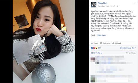 Dong Nhi noi ve nghi van bi doi xu bat cong tai MTV EMA - Anh 1