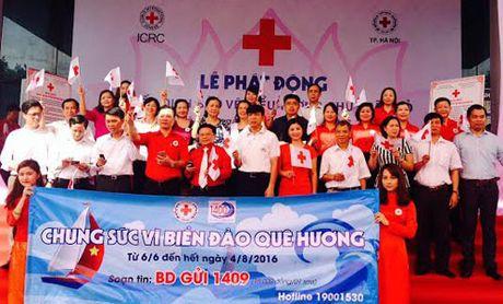 Hoi Chu thap do Thanh pho Ha Noi: Nhan len mam thien - Anh 1