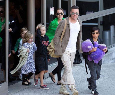 Jolie san sang len toa de gianh quyen nuoi con voi Brad Pitt - Anh 2
