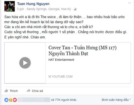 9x duoc vi la 'ban sao Tuan Hung' qua doi, ban chinh nghen long noi loi tam biet - Anh 2
