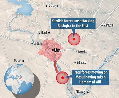 IS dien cuong tan sat 100 dan thuong khi thao chay o Mosul - Anh 2